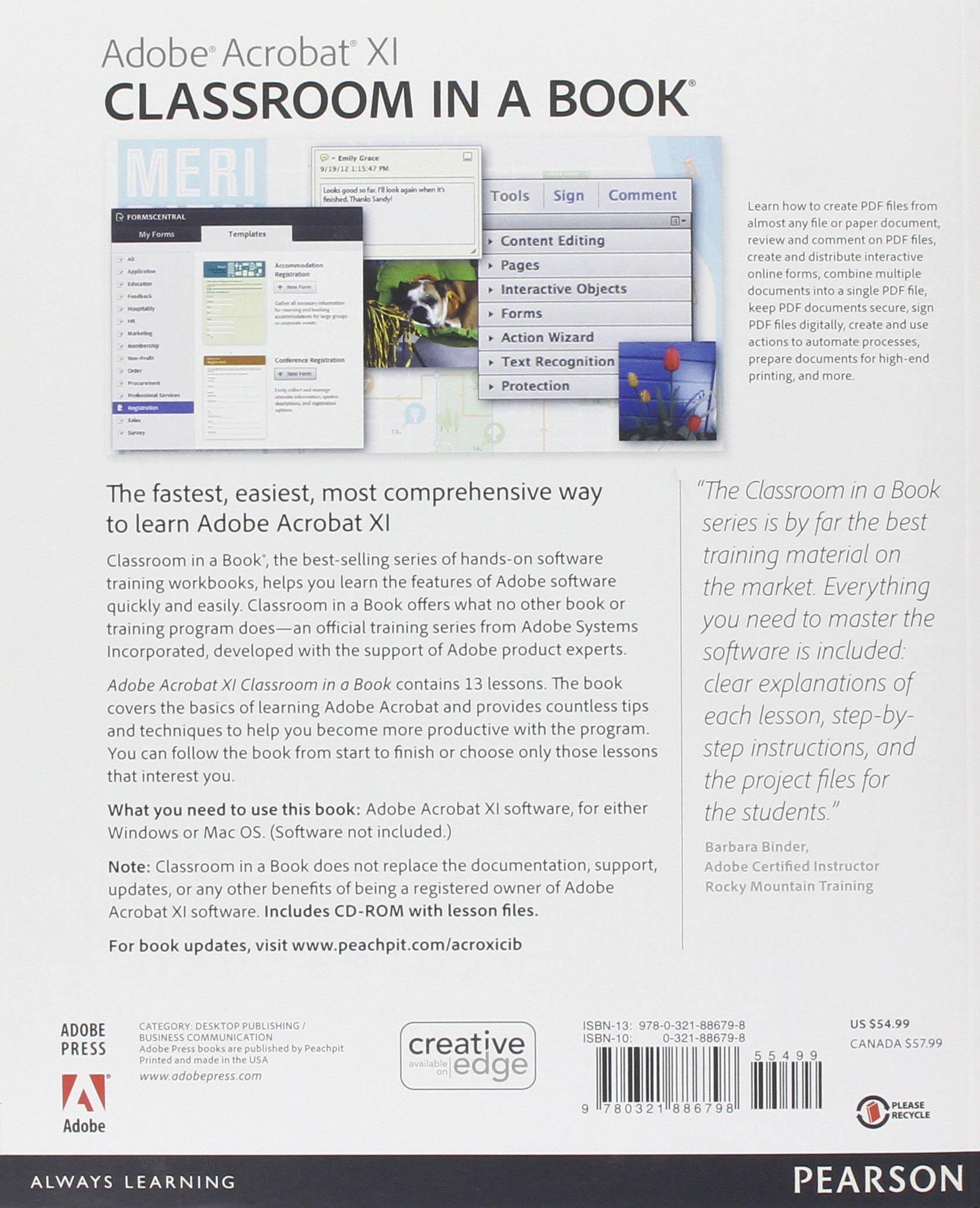 Adobe Acrobat XI Classroom in a Book (Classroom in a Book