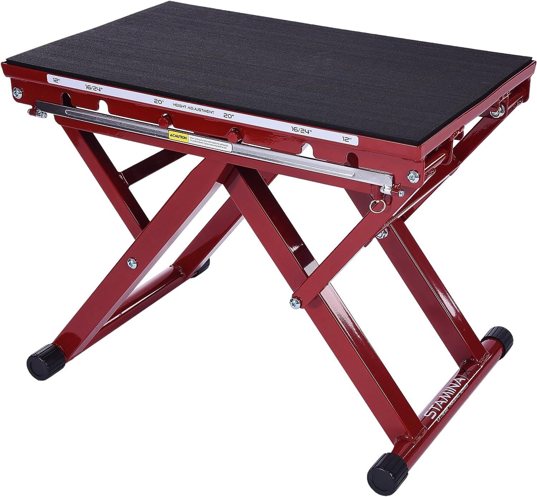 Amazon.com : Stamina | X Adjustable Height Plyo Box : Step Platforms : Sports & Outdoors