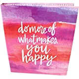"""bloom daily planners Binder (+) 3 Ring Binder (+) 1 Inch Ring (+) 10"""" x 11.5"""" - Do More of What Makes You Happy"""
