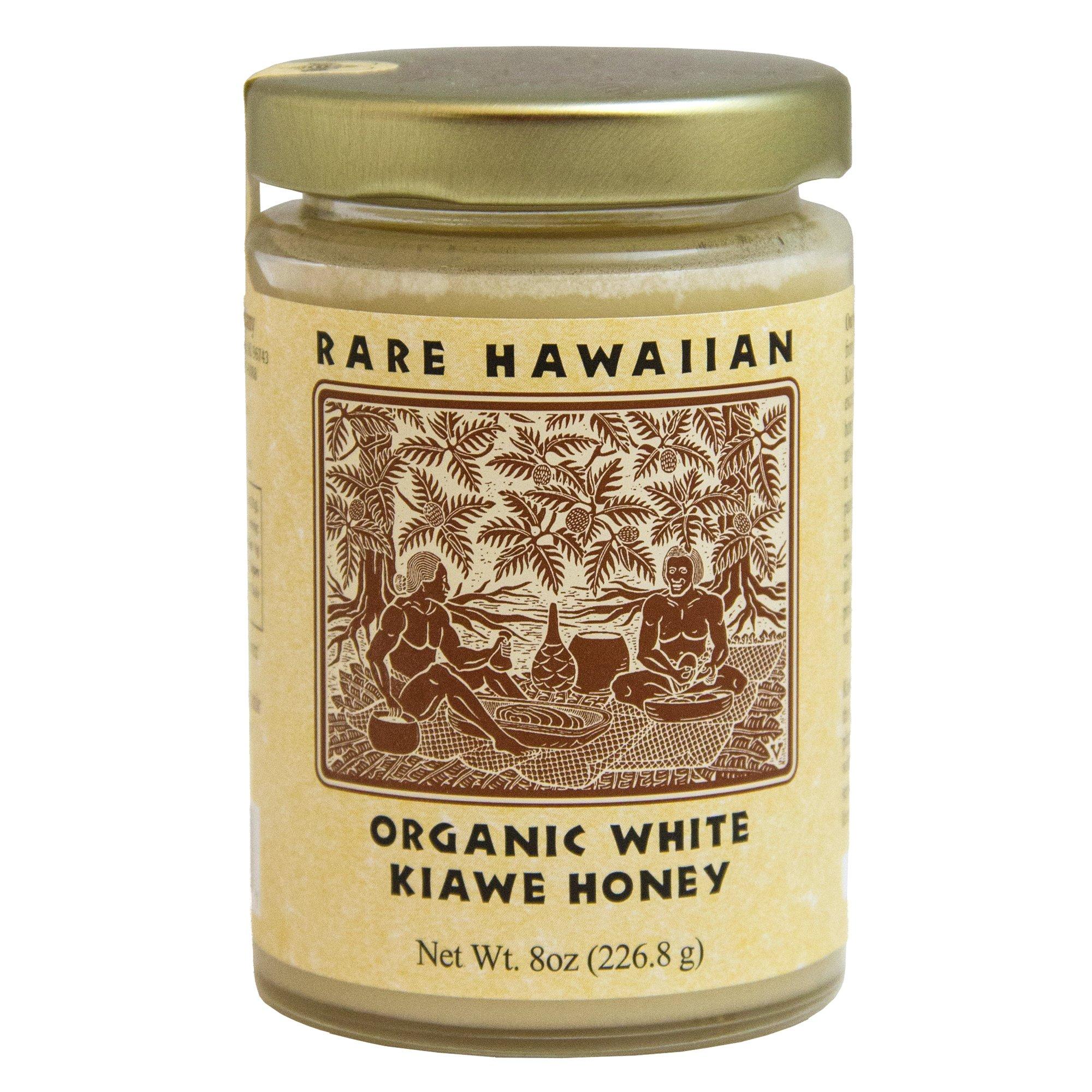 The Republic Of Tea Rare Hawaiian Organic Kiawe White Honey (8-Ounce Jar)