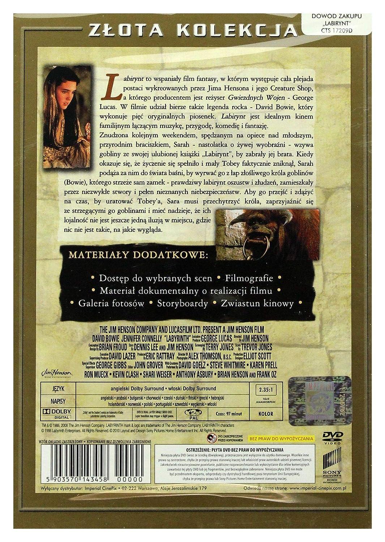 Labyrinth [DVD] (IMPORT) (No hay versión española): Amazon.es ...