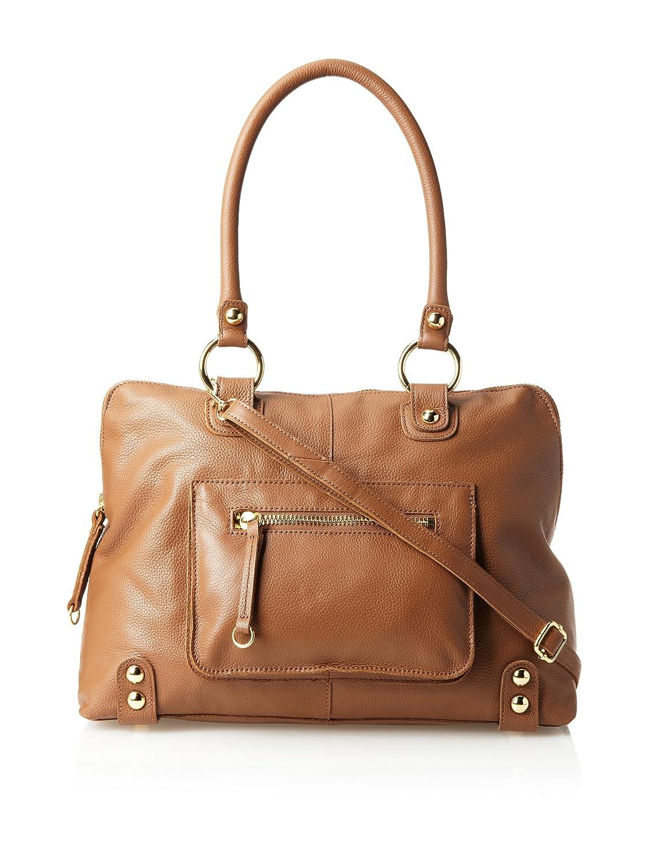 a9d2bef18b8 Linea Pelle Dylan Large Speedy Leather Satchel, Coffee Bean (Camel ...