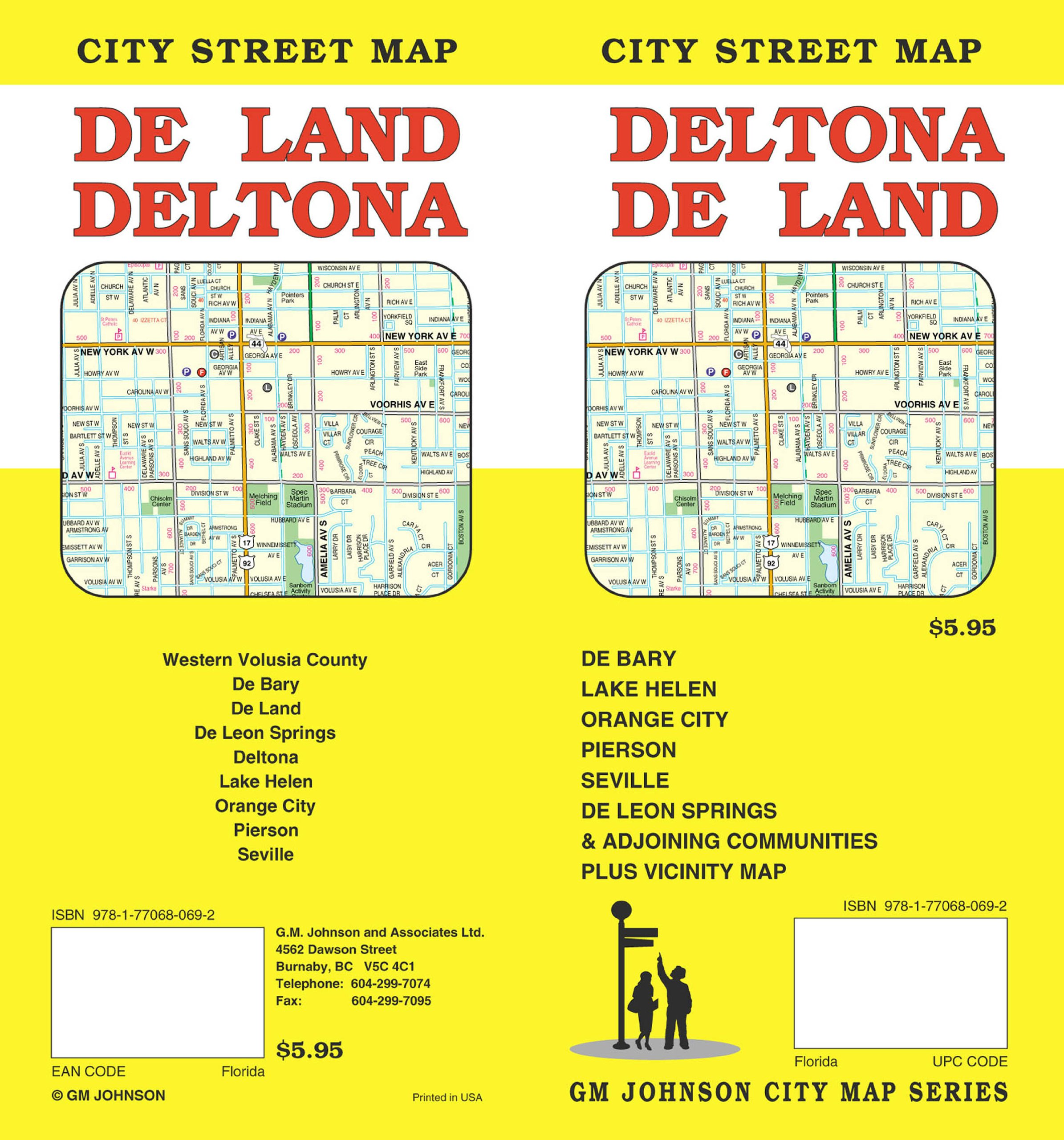 Deltona Deland Fl Gm Johnson Associates Ltd 9781770680692