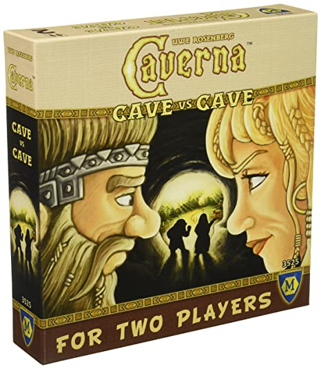 Amazon.com: Mayfair Games Caverna: Cave vs Cave: Toys & Games