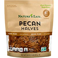 Nature's Eats Halves, Pecan, 16 Ounce (Pack of 1)