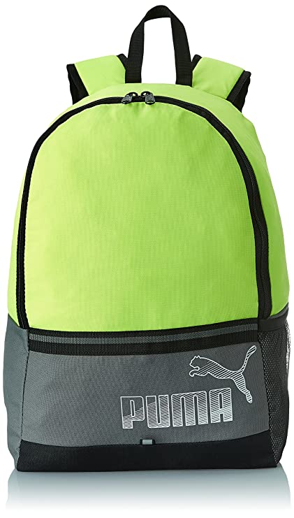 784bb9059a87 Puma 23 Ltrs Yellow Casual Backpack (7441304)  Amazon.in  Bags ...