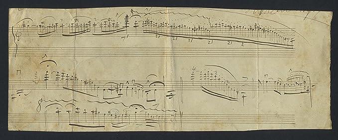 Vieuxtemps, Henri  (1820?1881): Violin Cadenza - Autograph