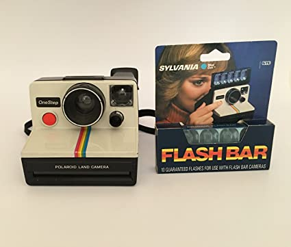 Amazon.com   Polaroid OneStep SX-70 White Rainbow Camera   Instant ... 698da3ae38