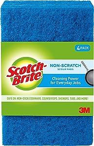 Scotch-Brite Non-Scratch Scour Pads, 48 Scour Pads