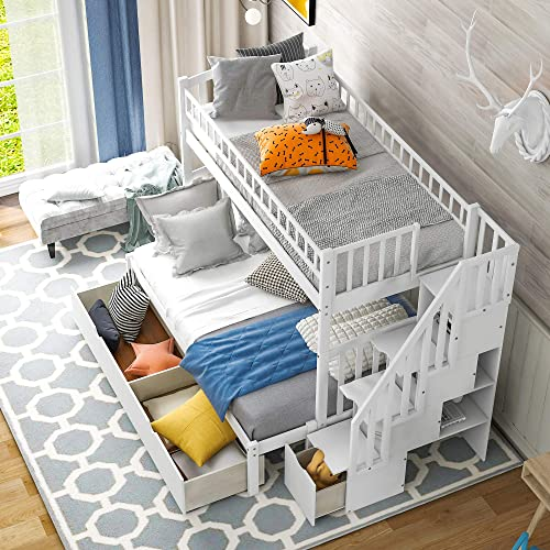 Twin Over Full/Twin Bunk Bed