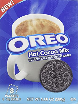 Hot Cocoa Mix Oreo 8 35g Pack One Package
