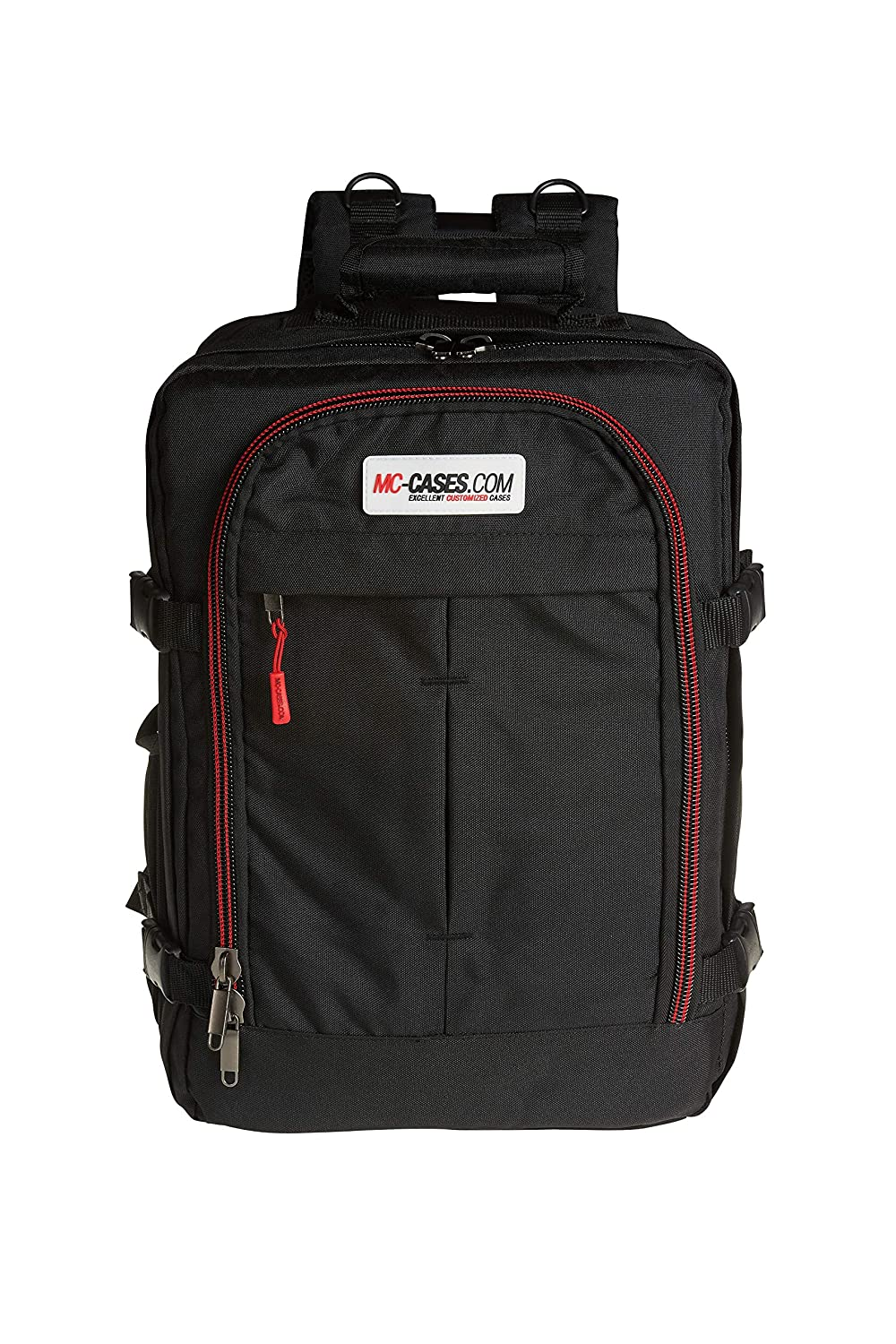 0deac2bd24a8 Amazon.com  MC-CASES Backpack for DJI Ronin S - 3 Axes Adjustable - Made in  Germany  Electronics