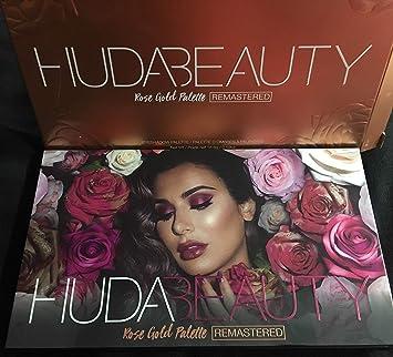 Amazon Com Huda Beauty Rose Gold Remastered Eyeshadow Palette Beauty