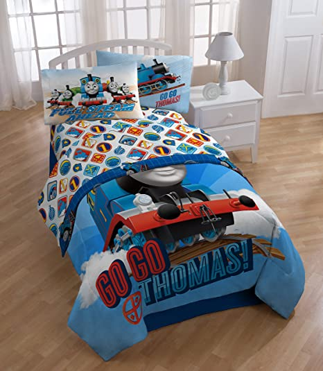 Amazon.com: Thomas the Train Sheet Set - Twin: Home & Kitchen