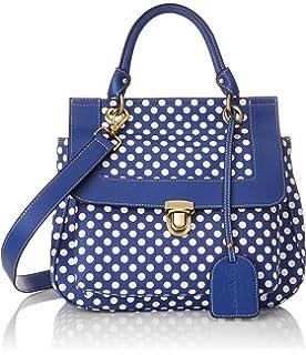 Laura Vita Dinan, Sacs portés épaule femme, Blau (Bleu), 8x16x21 cm (B x H T)