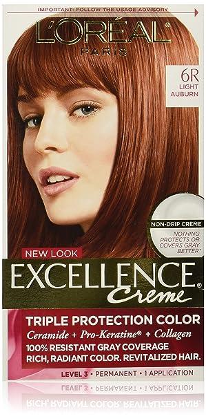 Amazon Loral Paris Excellence Crme Permanent Hair Color 6r