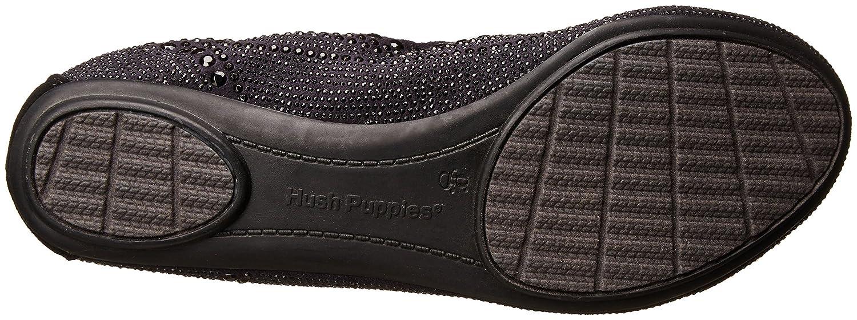 Hush Puppies 7.5 Women's Chaste Ballet Flat B005B0N2YU 7.5 Puppies XW US|Black Stud 2ff9ab