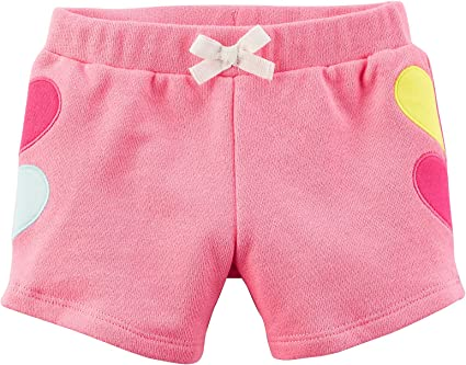 Carters Little Girls French Terry Shorts