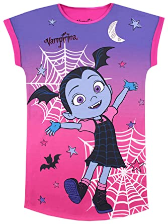 b7b01185f Disney Girls Vampirina Nightdress: Amazon.co.uk: Clothing