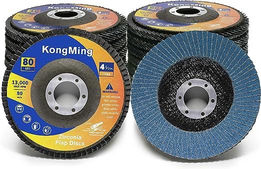 Flap Discs 5 Pack Grinding Wheels 4-1//2 x 7//8 Inch 40 Grit Flap Disc T29 Sanding Discs