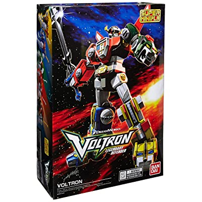 "Bandai Shokugan Super Mini Pla Voltron ""Voltron"" Model Kit: Toys & Games"