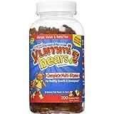 Yummi Bears Multi Vitamin & Mineral Gummies - Fruit Flavor - 200 ct