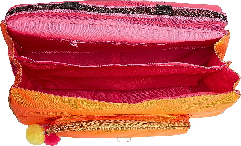 Orange Cartable 38 Tanns Les Fantaisies Frida Rose