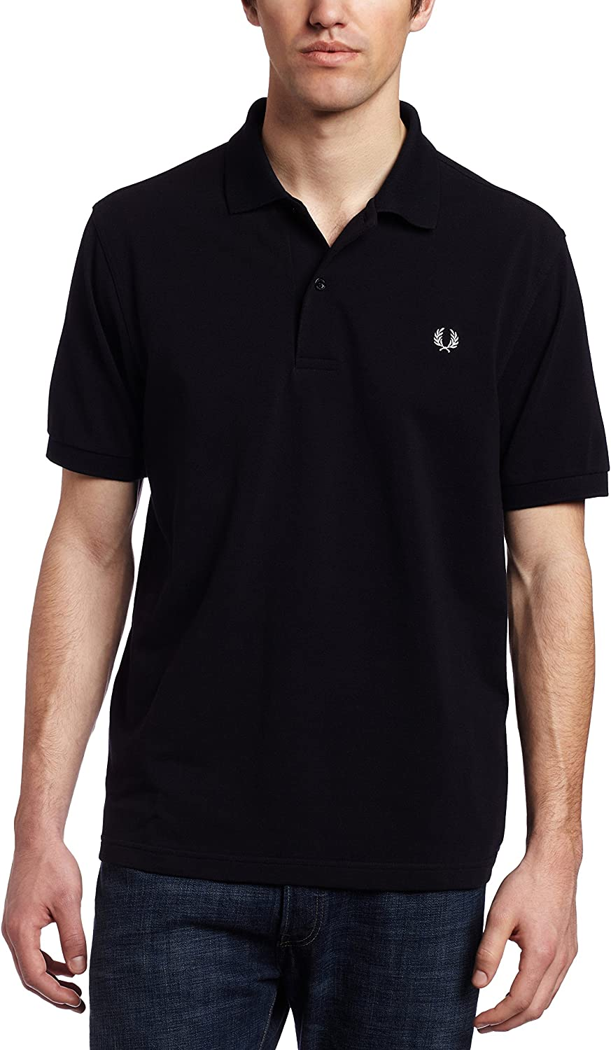 Fred Perry Plain Fred Polo Marina azul marino Large: Amazon.es ...