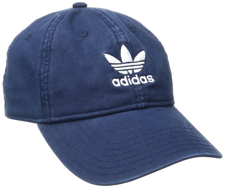 0d4c48cf16b Amazon.com  adidas Men s Originals Relaxed Strapback Cap