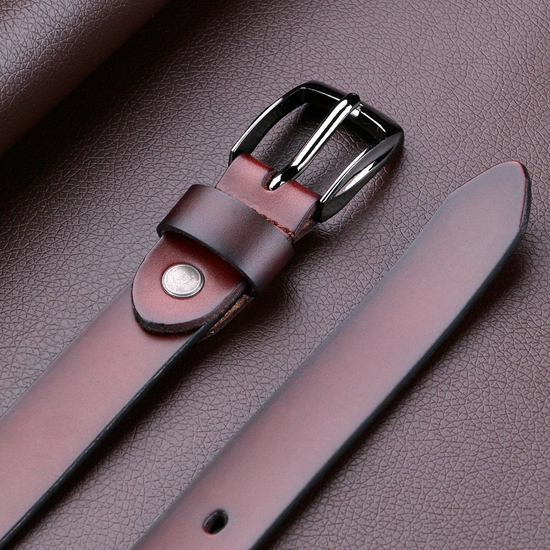 JasGood Cintur/ón para mujer