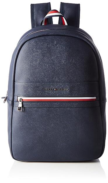 Tommy Hilfiger Playful Novelty Backpack, Sacs à dos homme, (Black), 19x46x30 cm (B x H T)