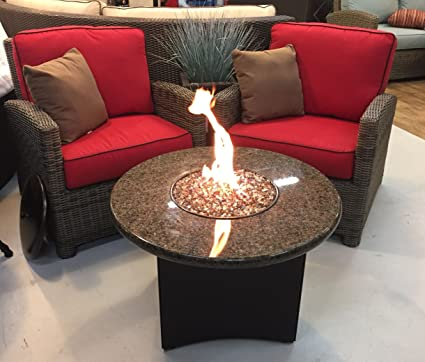 Oriflamme Propane Or Natural Gas Fire Pit Table   32u0026quot; Round Or Square    4