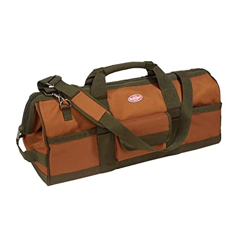 984f925262 Bucket Boss Gatemouth 24 Tool Bag in Brown, 60024 - - Amazon.com
