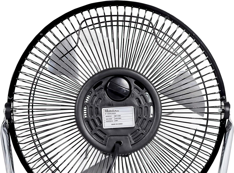 Maxell Power CE Ventilador DE SOBREMESA ASPAS Parrilla Metal 10 ...