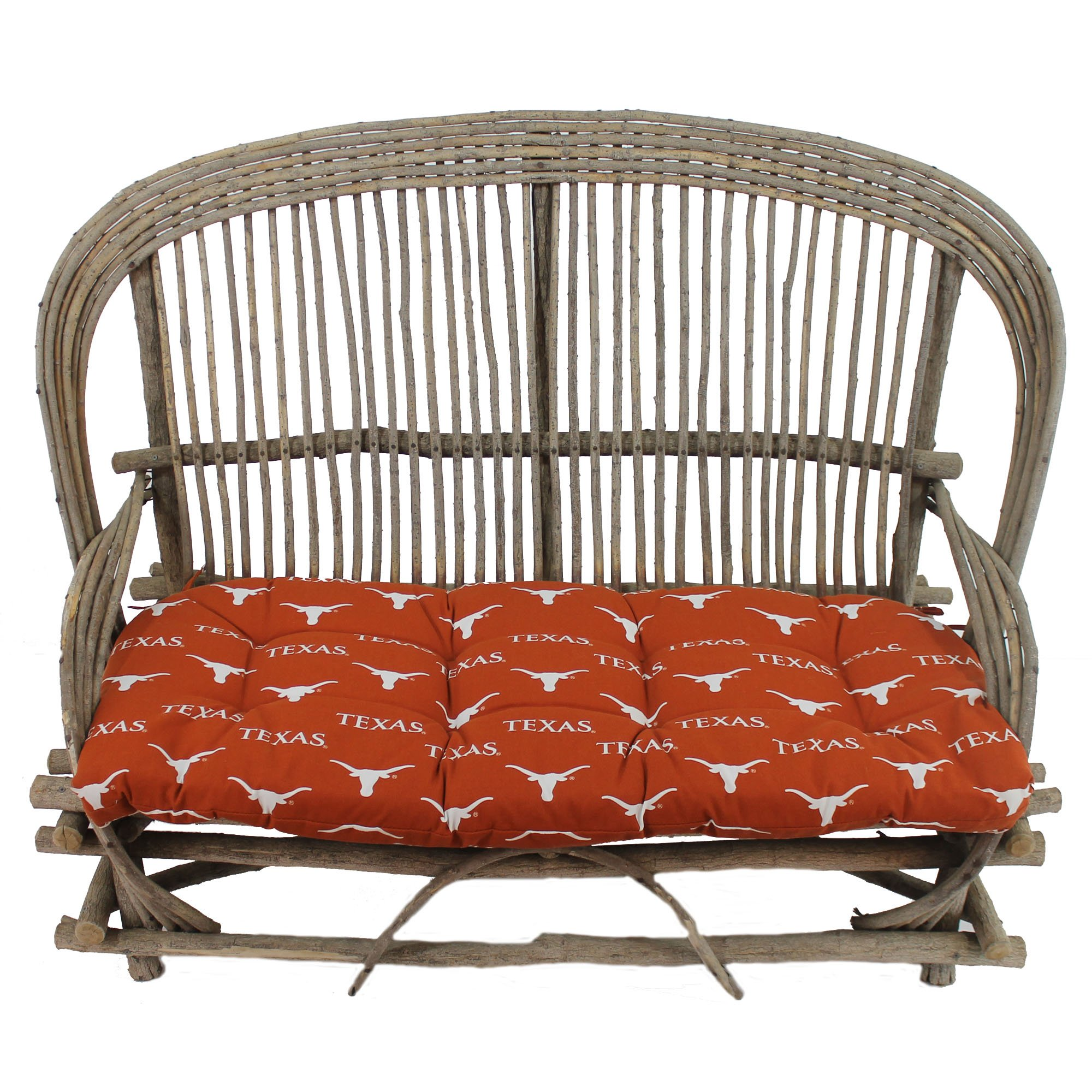 College Covers Texas Longhorns Settee Cushion