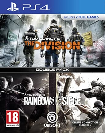 Tom Clancy's The Division + Rainbow Six Siege Double Pack (PS4