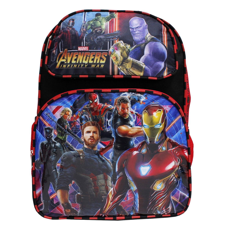 Marvel Avengers Infinity War Thanos Large Boys' School Backpack