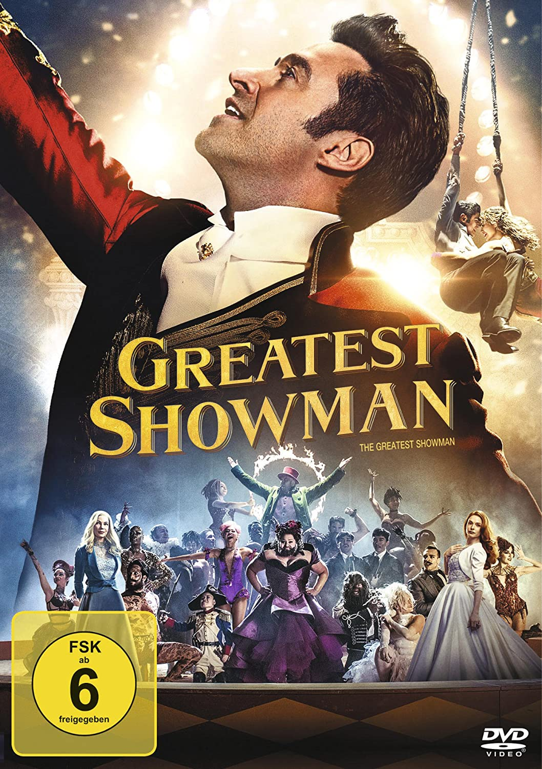 Cover: Greatest Showman 1 DVD (101 min)