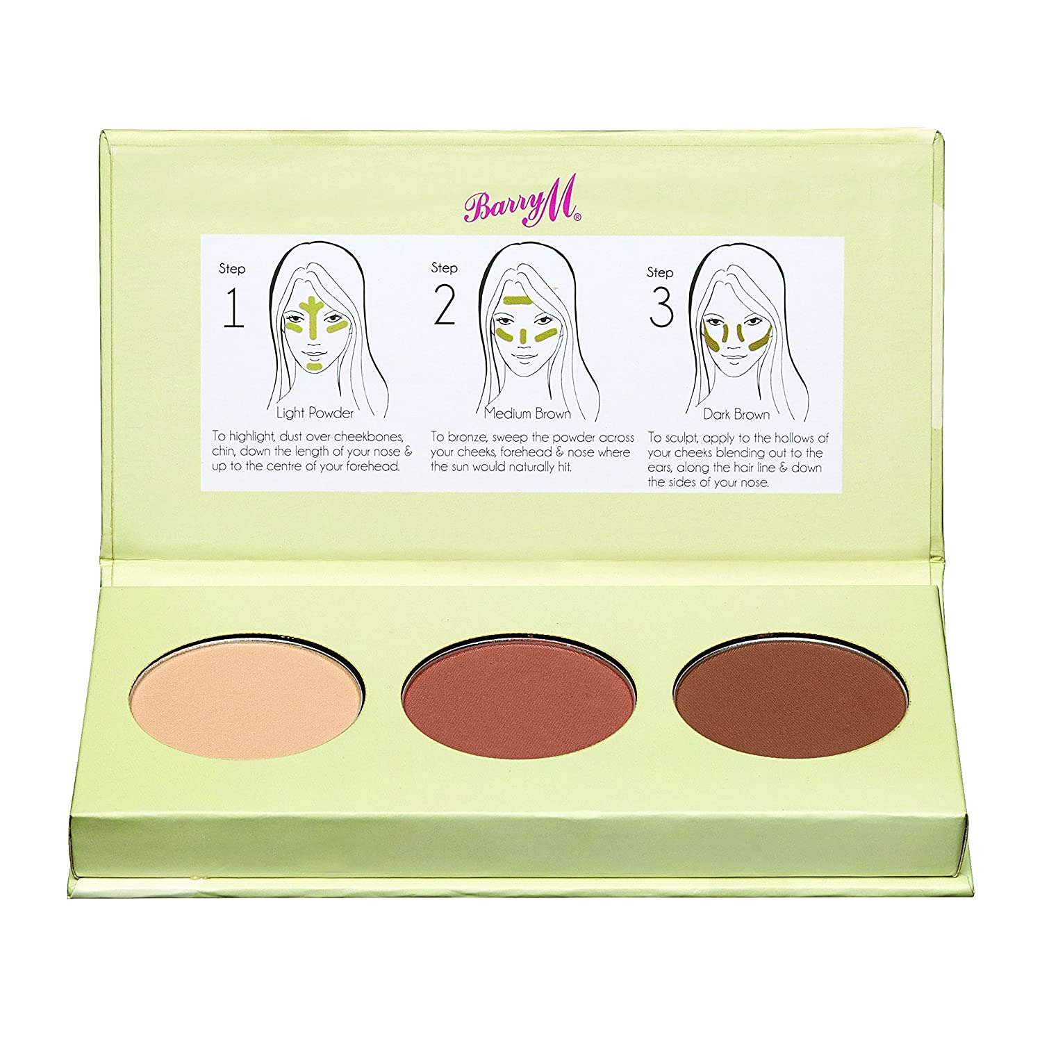 Barry M Cosmetics, Kit per contouring guance CCCK