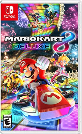 Amazon Com Mario Kart 8 Deluxe For Nintendo Switch Cell Phones