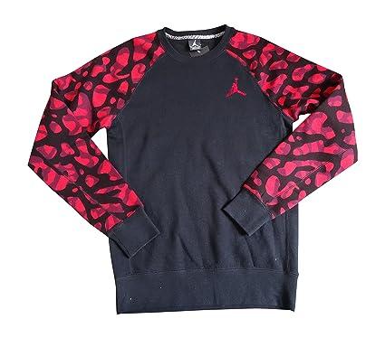 729dc6f01387 Nike AIr Jordan Elephant Camo Sweatshirt Jumper 811101 Top (Medium ...