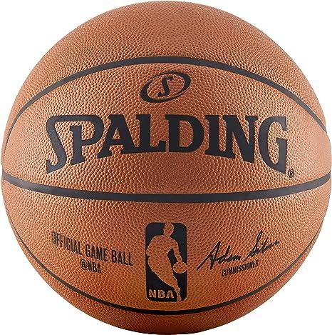 7 Spalding Unisexs Customizing ball Basketball Orange