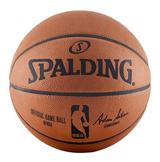 Spalding NBA Official Game Basketball (2015) - Official Size ...