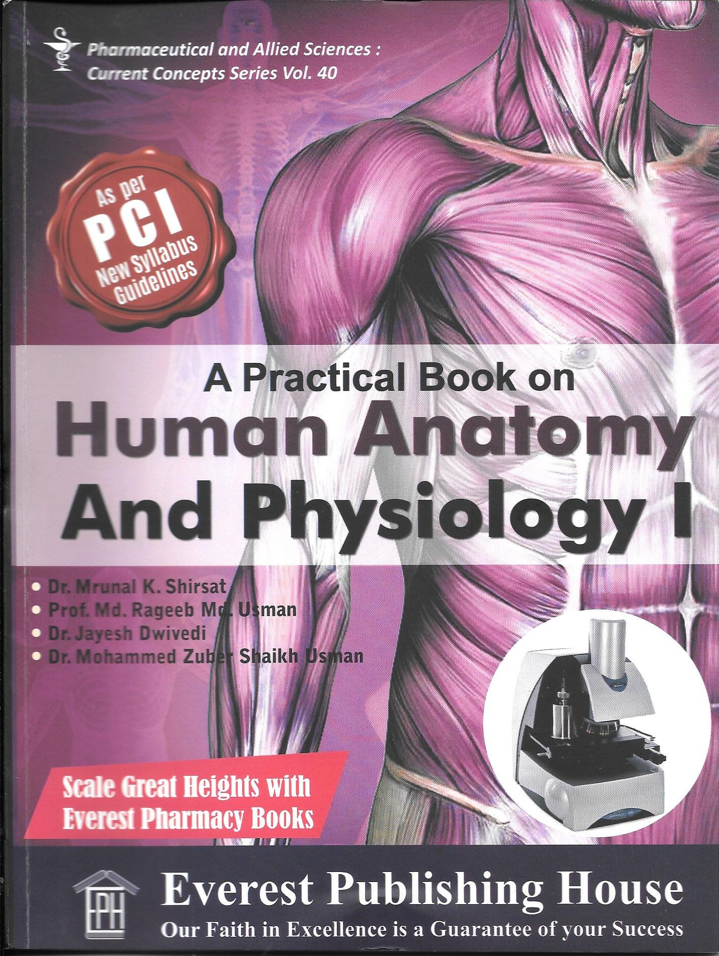 Amazon.in: Buy A Practical Book on Human Anatomy & Physiology I (As ...