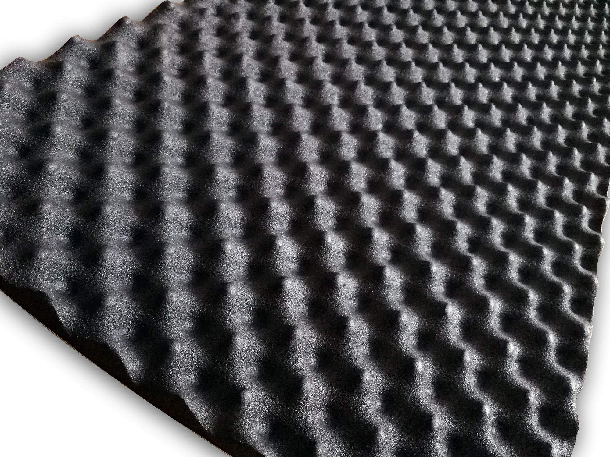 SOOMJ 10 Pack Studio Sound Acoustic Absorption Car Heatproof Foam Deadener 19.7''x31.5''