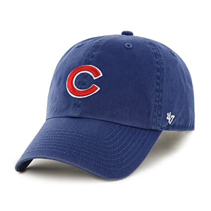 oficial mejor calificado 2019 original selección especial de 47 Chicago Cubs MVP Gorra Ajustable (Azul Real): Amazon.com ...