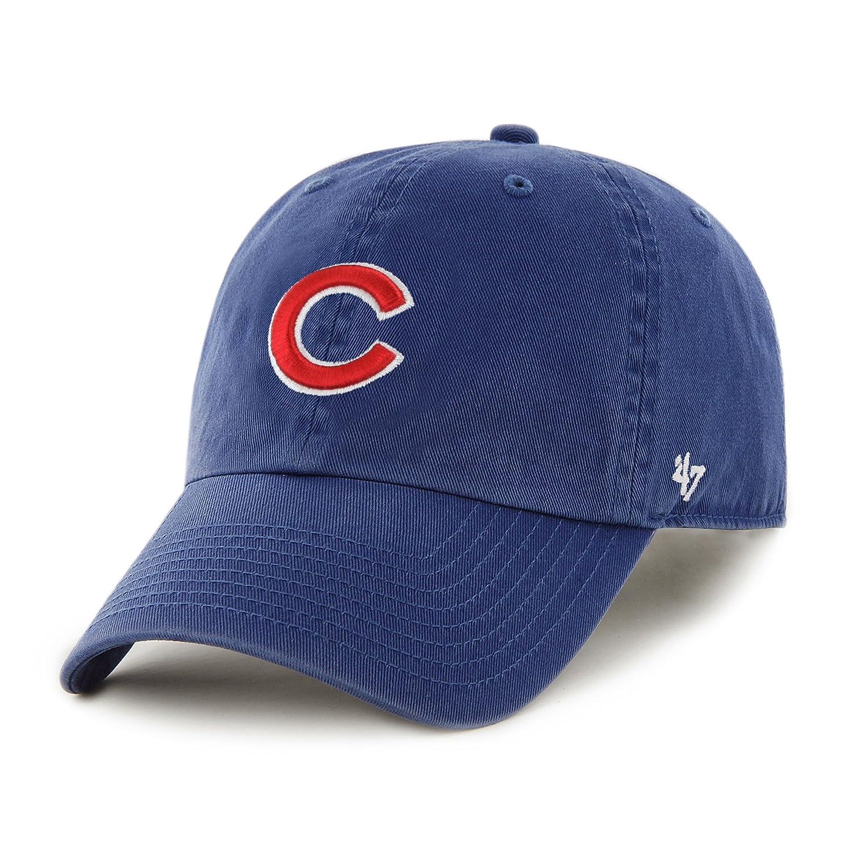 cd1d4d02b4d463 Amazon.com : Chicago Cubs MVP Adjustable Cap (Royal Blue) : Baseball Caps :  Clothing