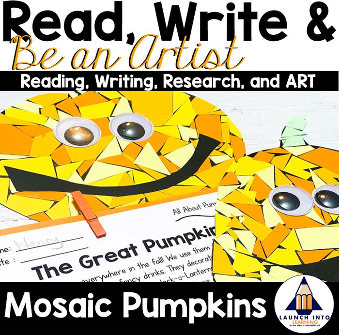 Lesson Plans For Halloween Art Projects (Read, Write, and BE AN ARTIST: All About Pumpkins Research Project for Grades)