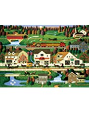 Buffalo Games - Charles Wysocki Americana Collection - Yankee Wink Hollow - 500 Piece Jigsaw Puzzle
