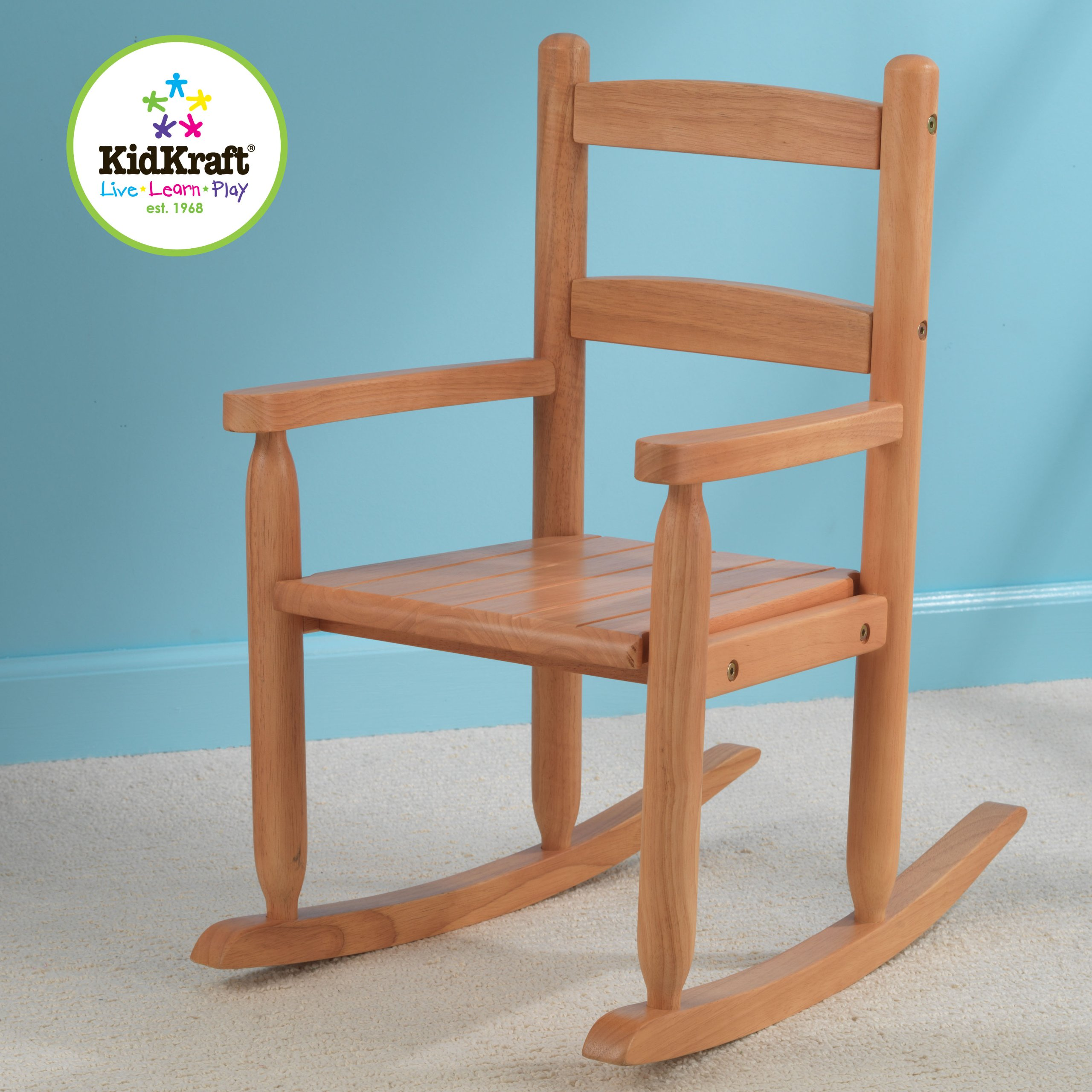 KidKraft 2-Slat Rocking Chair - Honey